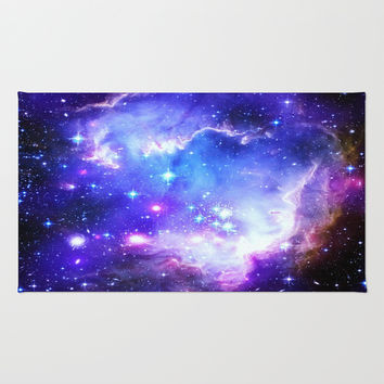 Galaxy Rug by WhimsyRomance&Fun