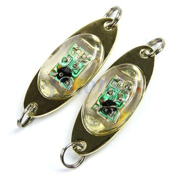 Fishing Accessories 1pc Fun Underwater LED Deep Drop Fishing Squid Fish Lure Light Flashing Lamp