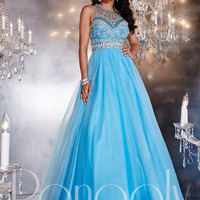 Panoply 14767 Beaded Bodice Formal Prom Gown