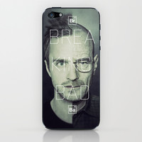 Breaking Bad Art  - Jesse Pinkman and Walter White. iPhone & iPod Skin by Mike