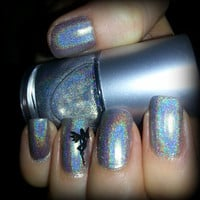 MDJ Colorblends Holographic Top Coat, Spectraflair Rainbow Spectrum 3 Free Nail Polish