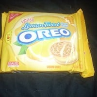 Nabisco, Oreo, Lemon Twist Limited Edition 15.25oz Bag