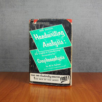 1967 New Edition Handwriting Analysis Book by M.N. Bunker