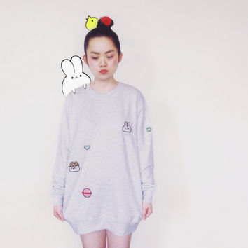 PIXEL WORLD unisex sweatshirt