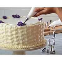 Cake Boss Decorating Tools 24-Piece Advanced Decorating Tip Set