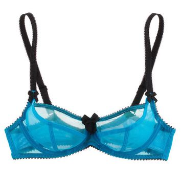 Buy Claudette luxury lingerie - Claudette Dessous Mesh Bra  | Journelle Fine Lingerie