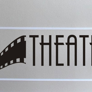Home Theater wall decal