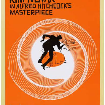 Vertigo Alfred Hitchcock Movie Poster 11x17