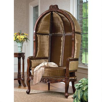 Lady Alcott Victorian Balloon Chair Big Arch Over Chair Private Seat 64H