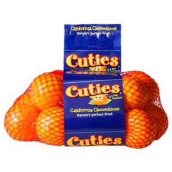 Cuties California Clementines - 3lb bag
