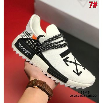 Adidas x Pharrell x BBC NMD Human Fashion Comfortable Breathable Sport Running Shoes Sneakers 7#
