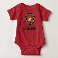 My Daddy is a Marine Baby Romper