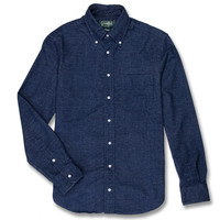 Gitman Vintage Shaggy Solid Navy