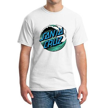Point Break OEM Skateboard Skate Santa Cruz Men T Shirt Cotton Printed Loose T-shirt Tees Camiseta Mens Clothing