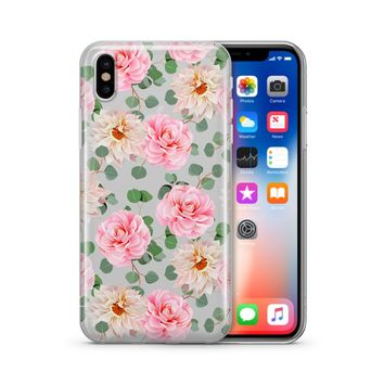 Camellia - Clear Case Cover