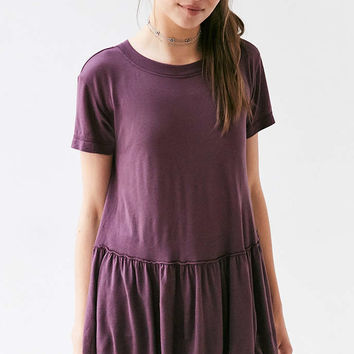 Truly Madly Deeply Dusty Road Peplum Tee Dress - Urban Outfitters