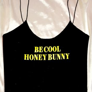 SWEET LORD O'MIGHTY! HONEY BUNNY SKINNY TANK
