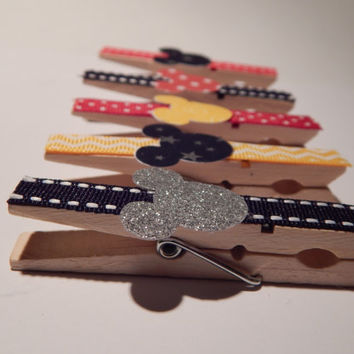 Mickey Mouse Magnets - Mickey Mouse Party Favors - Fish Extender Gift