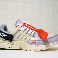 Virgil Abloh Off White x Nike Air Presto OW AA3830-002 Size 40-45