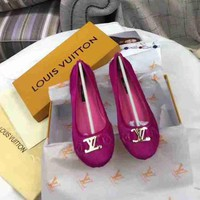 LV Louis Vuitton Women Casual Flats Shoes