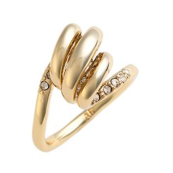 Alexis Bittar 'Miss Havisham' Crystal Encrusted Spiral Ring | Nordstrom