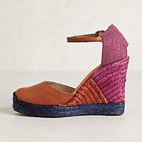 Anthropologie - Raffia Medley Wedges