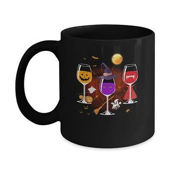 Wine Glass Of Witchcraft Funny Halloween Mug