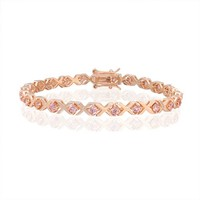 Bling Jewelry XOXO Pink Bracelet