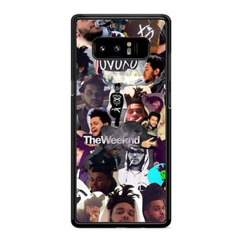 The Weeknd Collage Samsung Galaxy Note 8 Case