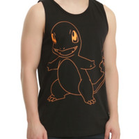 Pokemon Charmander Tank Top