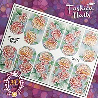 Fashion Nails - 3D 14 Water Decals