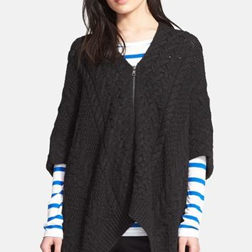 Women's Vince Cable Knit Poncho,