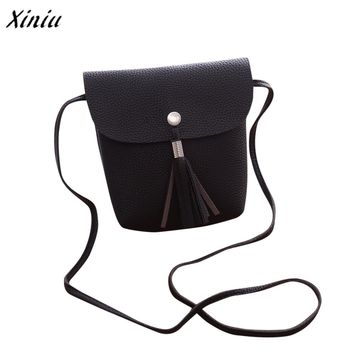 bolsa feminina Women Tassel handbag Casual Shoulder Bag Coin Purse Card Phone Handbag crossbody Messenger Bag