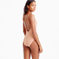 Ballet one-piece swimsuit in Italian matte