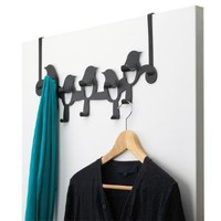 birdseye 10 hook - Hardware - Black - Umbra Store - Manufacturer of Houseware Designs