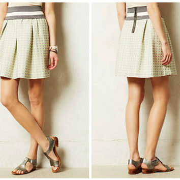 NWT Anthropologie Seren Skirt Sz L - By Maeve