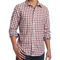 Canterbury of New Zealand Men's Brian Long Sleeve Button-Up Shirt