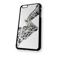 Giraffe And Baby iPhone 6 case