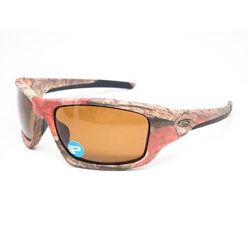Oakley Valve OO9236-25 Woodland Camo Polarized Sunglasses