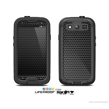 The Metal Grill Mesh Skin For The Samsung Galaxy S3 LifeProof Case