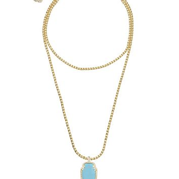 Shaylee Pendant Necklace in Turquoise - Kendra Scott Jewelry