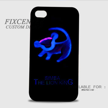 Simba Lion king cartoon 3D Cases for iPhone 4,4S, iPhone 5,5S, iPhone 5C, iPhone 6, iPhone 6 Plus, iPod 4, iPod 5, Samsung Galaxy Note 4, Galaxy S3, Galaxy S4, Galaxy S5, BlackBerry Z10 phone case design