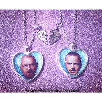 Breaking Bad Friendship Necklace / Jesse Pinkman