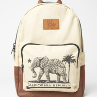 Riot Society Cali Elephant Canvas Backpack at PacSun.com