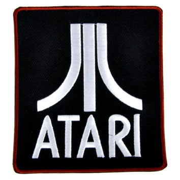 Atari Patch Iron on Applique Alternative Clothing