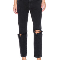 Lovers + Friends x REVOLVE Ezra Cropped Slim Boyfriends Jean in Rosemont