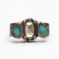 Mikal Winn Womens Three Stone Double Ring