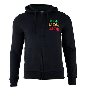 Bob Marley - Lion Adult Zip-Up Hoodie