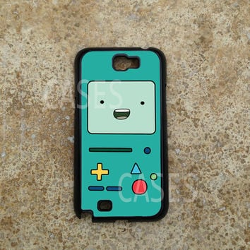 Galaxy Note 2 Case, Adventure Time Beemo Galaxy Note Cases,Fun Cool Note 2 Cover