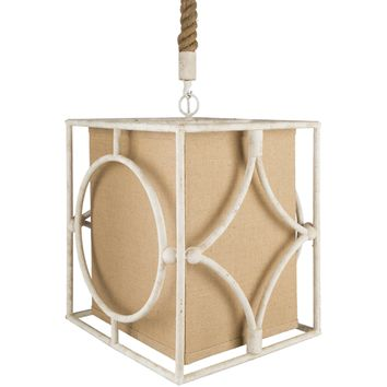 Surya Ewing Wheat One-Light Pendant